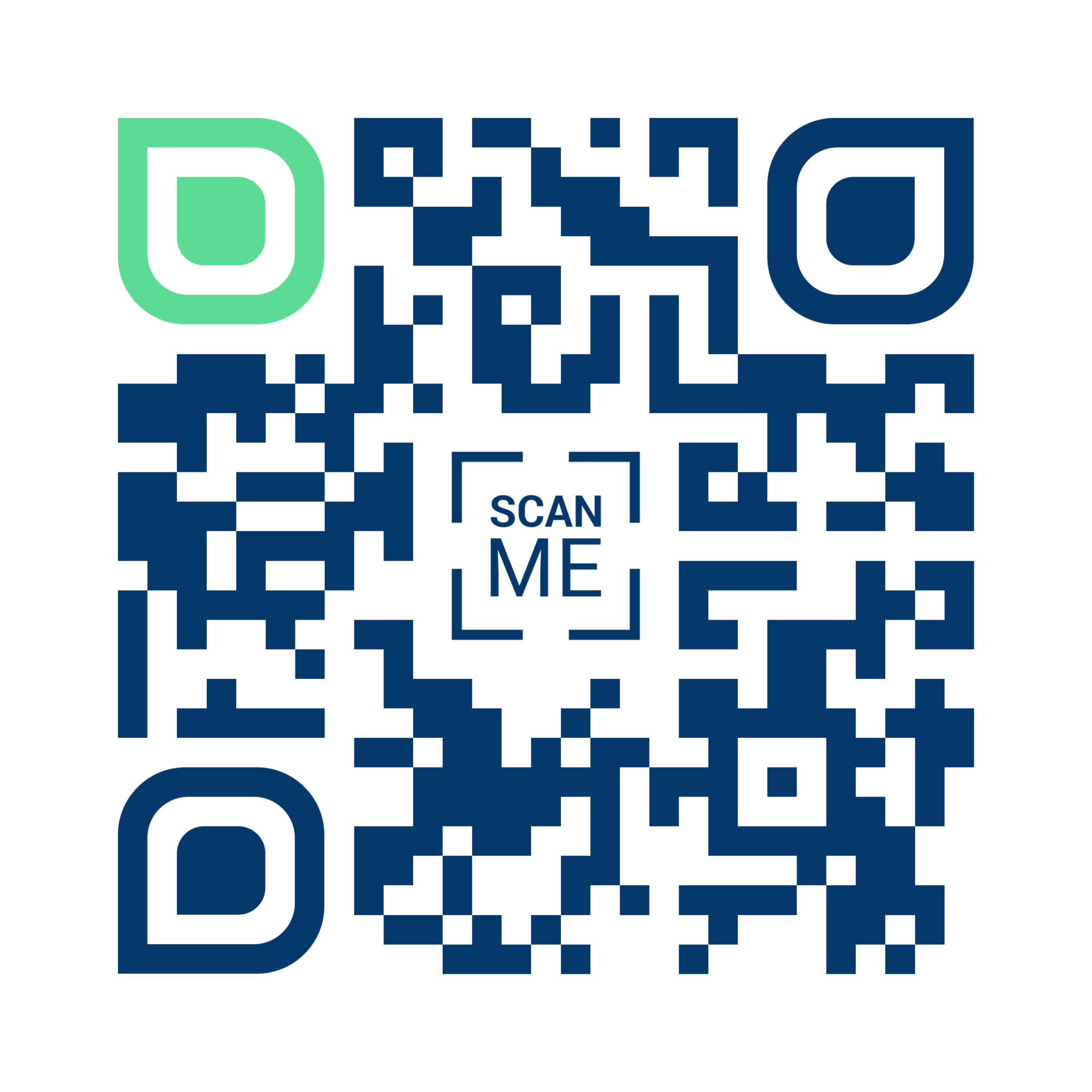 OhFunnel QR code contact details